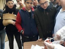 درس علوم تشريح القلب لطلاب الصف التاسع