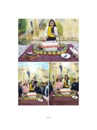عيد ميلاد أميرة المعالي ليان قشقش الصف الرابع الشعبة الأولى 20-12-18