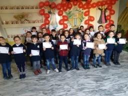 طلاب الصف الاول المتفوقين في مادة الاملاء 20-12-22